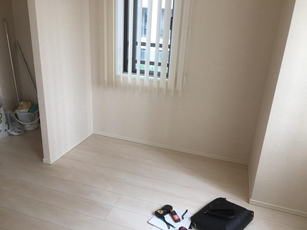 施工前の部屋のスペース
